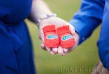 Gator Maternity Photography / Ideas on how to infuse orange and blue into your future Gator's photo session.