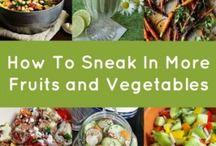 Sneaking in more Fruits & Veggies
