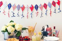 Holidays: July 4th / Decor and eats for the nation's birthday / by MJ | Pars Caeli