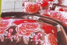 Motif Sprei Red Beauty