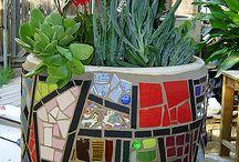 Mozaikblumentopf