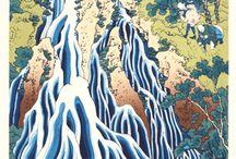 Katsushika Hokusai (1760~1849) -  A Tour of the Waterfalls of the Provinces