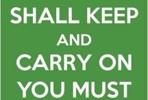 keep calm / by Molly Hernandez