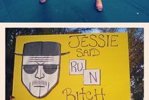 Race Day Signs