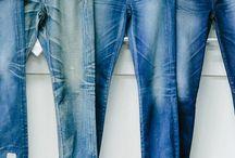 En jean....