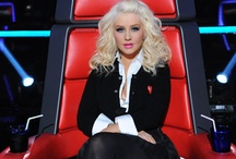 X-tina / Christina Aguilera Hairstyles on The Voice / by Amber Norell