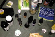 Herbal First Aid Kits / Herb Students create their own first aid kits according to their needs and uses.