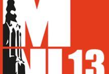 MNL13 - Middelpunt NL / MNL13 (Middelpunt NL) op 25 & 26 september 2013 is het eerste en enige zakelijke festival van Nederland. MNL13 staat voor: Verwondering, Verbinding en Innovatie. Thema's: Zorg, Voeding en Wetenschap. Tientallen innovatieve, interessante, eerlijke sprekers delen hun verhaal met bezoekers op interactieve wijze #MNL13 #AmersfoortEvents