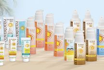 Coverderm Filteray Range / Expert Sun Protection for all likes! All-day lasting, prestige sun protection for the face! Versatile, masstige sun protection for the body! The ultimate safe, protective and high quality skin caring sunscreens!