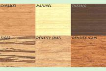 Eettafel bamboe / Eettafel geheel opgebouwd uit massief bamboe plaatmateriaal.