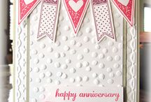 stampin up anniversary cards