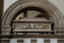 Funeral monuments in Florence, historical churches, Renaissance