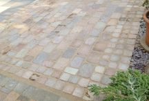 Indian Sandstone and Limestone Paving / Indian Sandstone and Limestone Patio Slabs, Riven, Tumbled, Polished Ranges