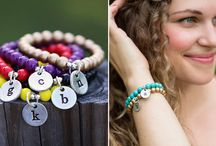 Favorite Pieces / Custom handstamped jewelry, created just for you!