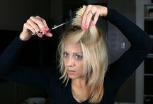 stíhání a zastřihování vlasů