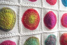 Knitting and crocheting / by Cindy Behnke