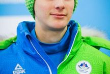 Domen Prevc / 18 years old Slovenian ski jumper. Young and kinda newbie but already fav. Love him for his mysterious and clever personality.  FUTURE IS BRIGHT, WEAR SHADES