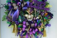 Mardi Gras Decor / A collection of Mardi Gras finery