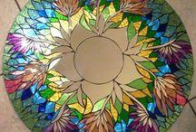 mosaic and glass / mozajka a sklo :)