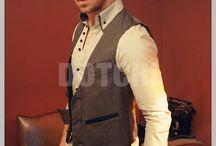 Men´s formal fashion / Suits . Jacket . Vest . Pant