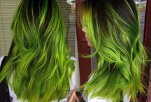Creative hair color