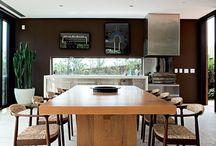 Casas e Salas de Jantar