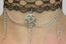 Gothic Necklace / Gothic Necklace handemade (collane stile gotico fatte a mano)