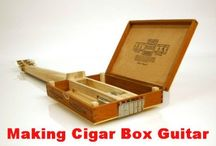 Cigar Box Guitar / I am going to make one of these / by Uriah Bennett