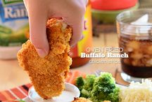 He would eat chicken everyday! / by Faith Barbour
