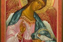 Ikona anioł