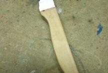RESTAURANDO CUCHILLOS / Arreglando cuchillos con madera de olivo