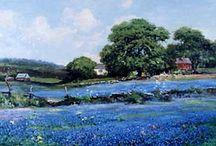 Robert Woods Oil Paintings / by Genea Maines