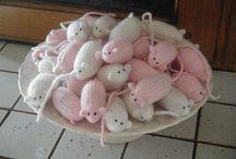 Myszki na drutach
