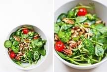 Food Love: Salads / I could live on salads! / by Stephanie Wills