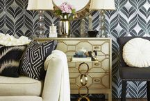 Home: Formal Living Room / Formal living room. Home decor. Z gallerie. Dream decor. Hollywood inspired decor. Modern hollywood.  / by Tawny Vena Younique Presenter