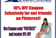 10% OFF Pinterest Coupon: Ocean-Tamer Marine Bean Bags