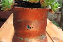 Hypertufa Plant Pots / Items created and sold through Etsy