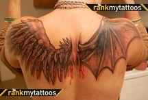 tattoos / skin
