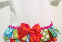 diy newborn and kids clothes and bows