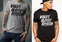 world's okayest boyfriend shirt,gift for him