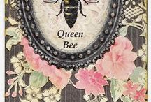 Art: Graphics: Bees / by Junkin' J