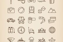 travel - travel doodles