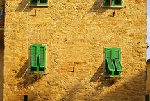 Italian design / Reminiscing about Italy and the designs of houses to just the windows, the shutters which I loved. I'd love to have a home that could capture the uniqueness