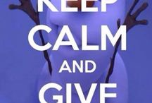 keep calm and ....