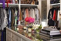 "+ Walk-In Closet / ""i like my money right where i can see it.. hanging in my closet."" -Carrie Bradshaw"