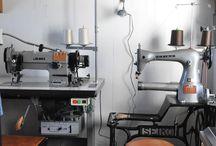 leather shop interior