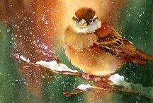 Рисунки - Птицы.