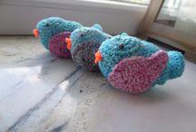 Szydełkowe ozdoby / Home crochet decorations