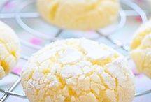 biscuits au citron