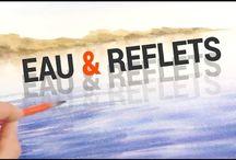 Mar e reflexos